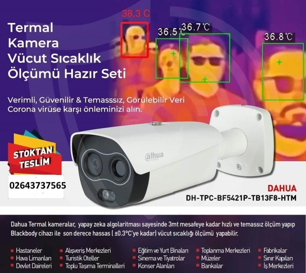 Kocaeli Termal Kamera Vücut Isı Tespit Cihazı